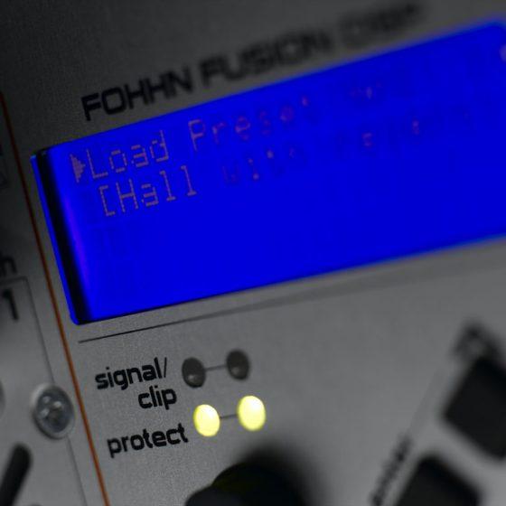 XS-30 Active - control display